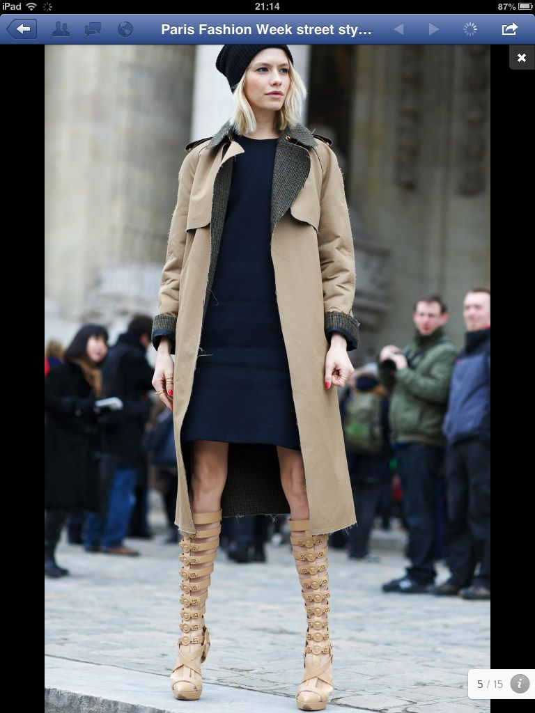 Love the coat the shoes !!!