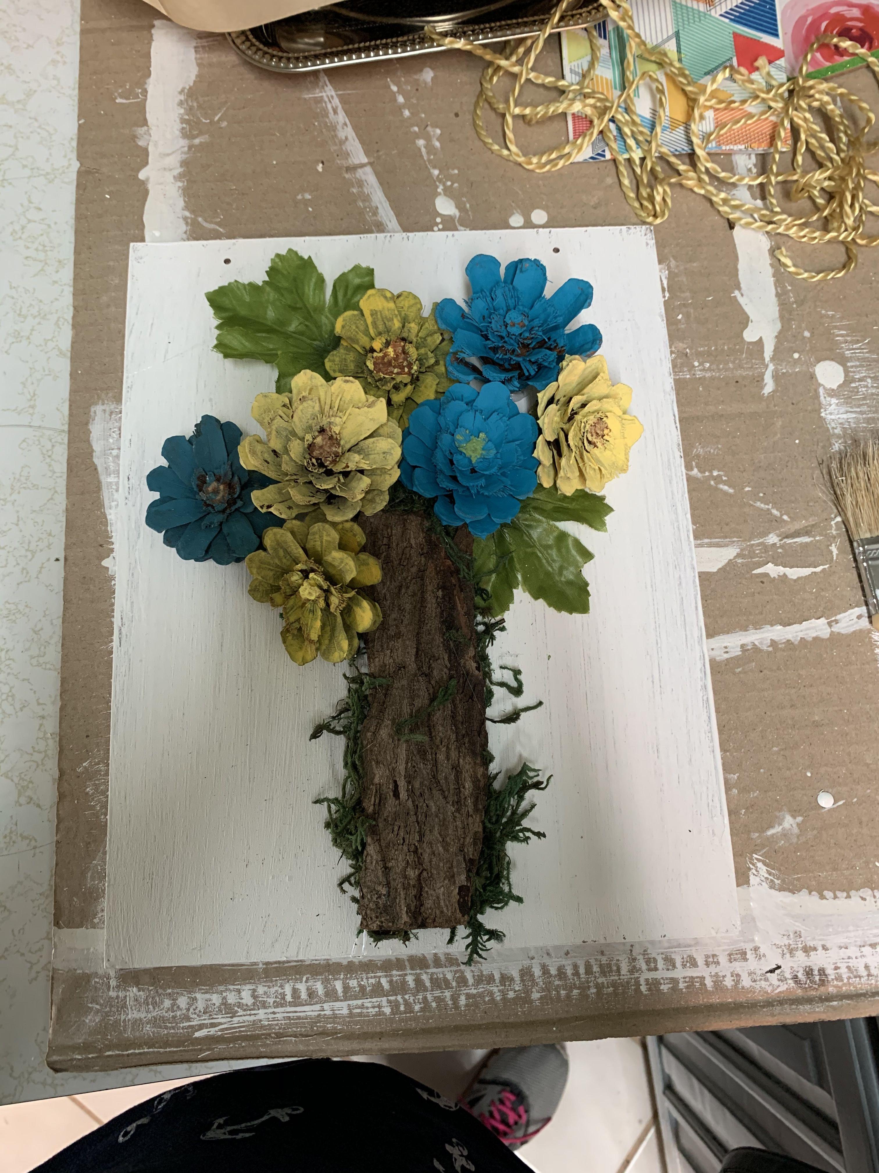 Pin On Debras Pine Cone Creations