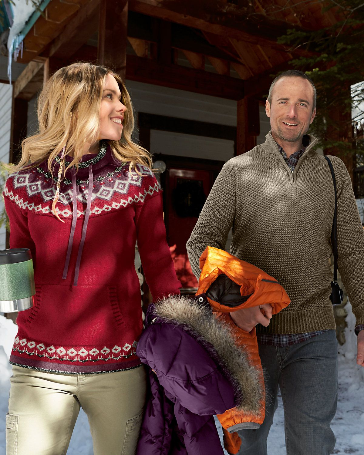 Echo Ridge Pullover Sweater | Eddie Bauer i like the style of sweater