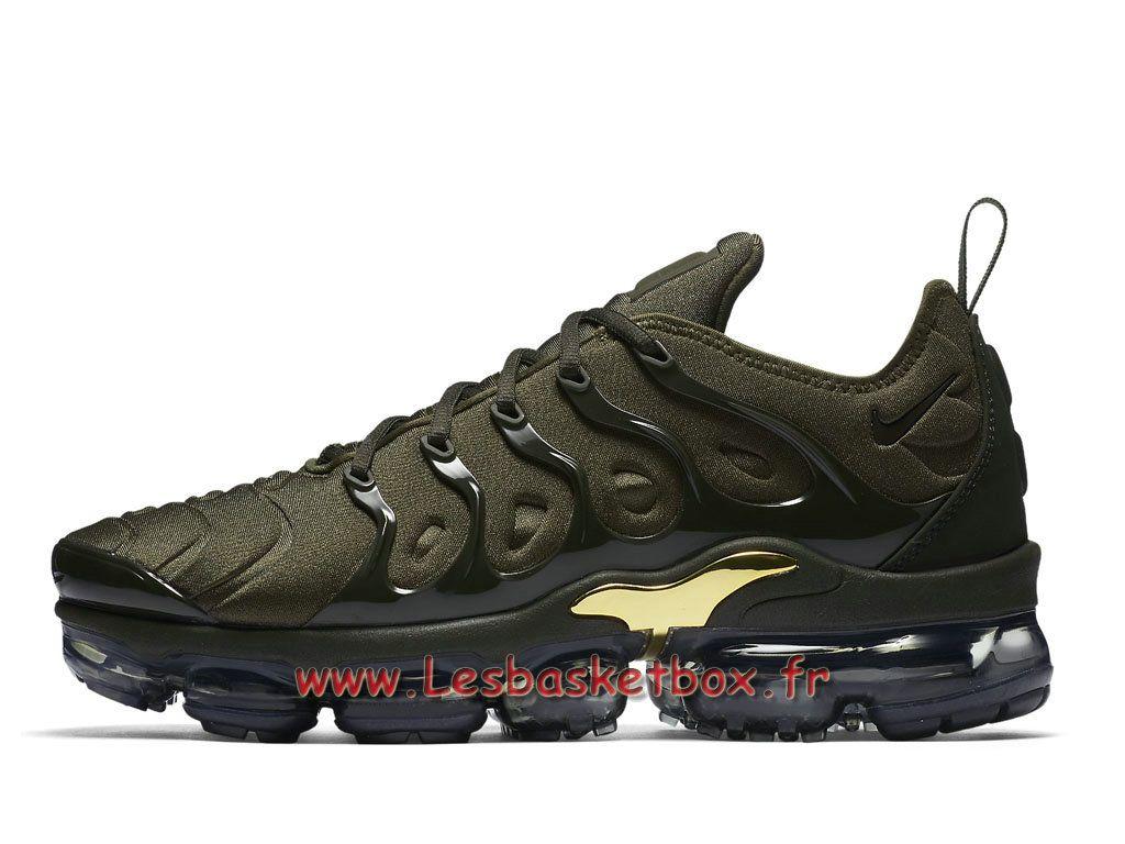 Basket Nike Air VaporMax Plus Sequoia 924453 300 Chaussures NIke Pas cher  Pour Homme 4a8bd11bdd83