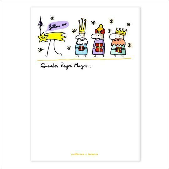 Worksheet. Plantilla para redactar carta a los Reyes Magos  Documentos