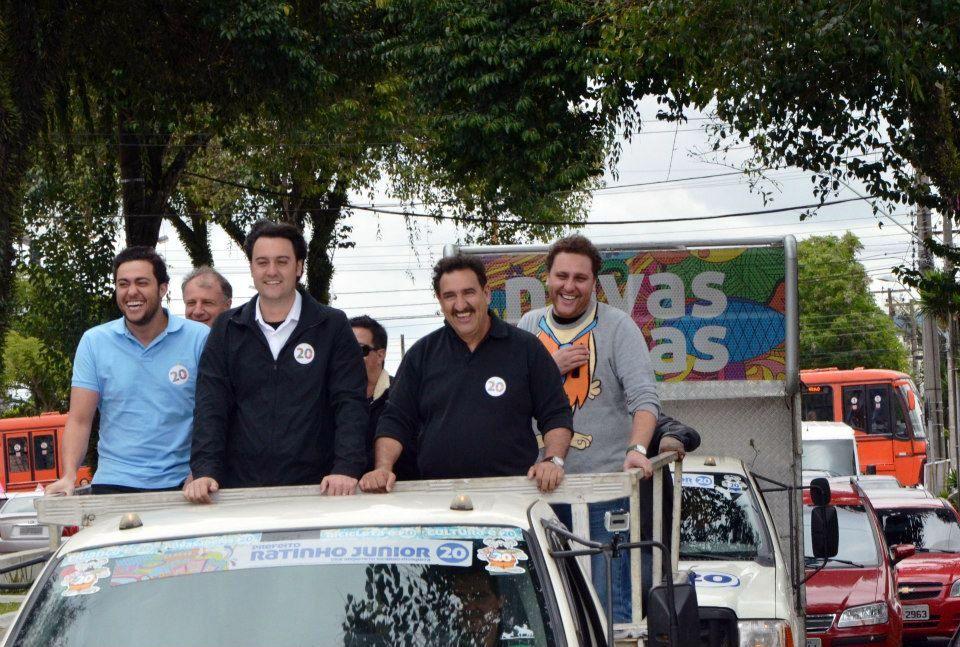 Realizamos a caravana das Novas Ideias em Santa Felicidade, Boqueirão e CIC, com grande adesão das pessoas nas ruas.