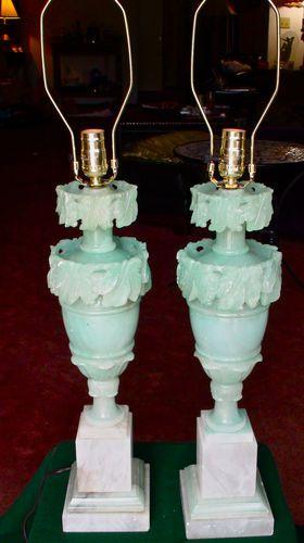 Alabaster Urn Lamps Alabaster Lamp Chandelier Lamp Table Lamp