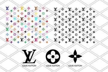 Louis Vuitton Svg Lv Bundle Brand Logo Svg Louis Vuitton Pattern Cricut File Silhouette Cameo Svg Png Eps Dxf Louis Vuitton Pattern Louis Vuitton Svg