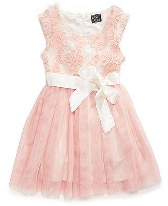 c2ca2fc64d9 Pink   Violet Girls Dress