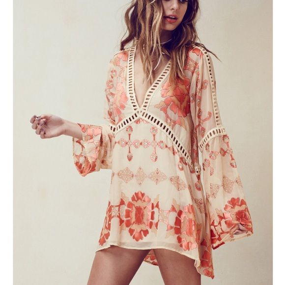 For Love And Lemons Barcelona Mini Boho Mini Dress Hippie Chic Fashion Boho Fashion