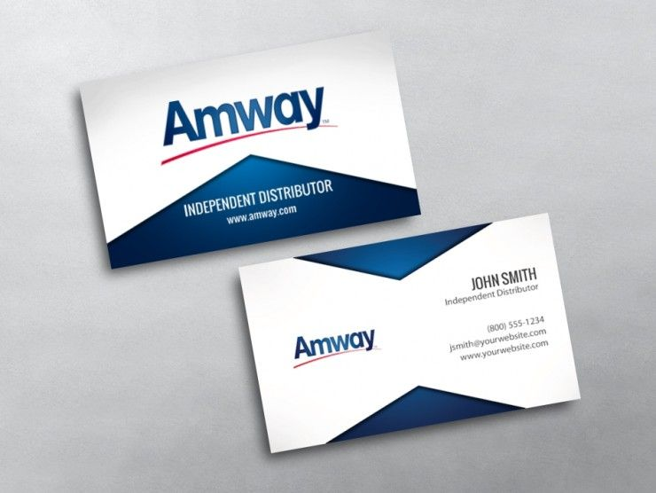 Amway Business Card 01 Business Card Template Business Card Dimensions Amway Business