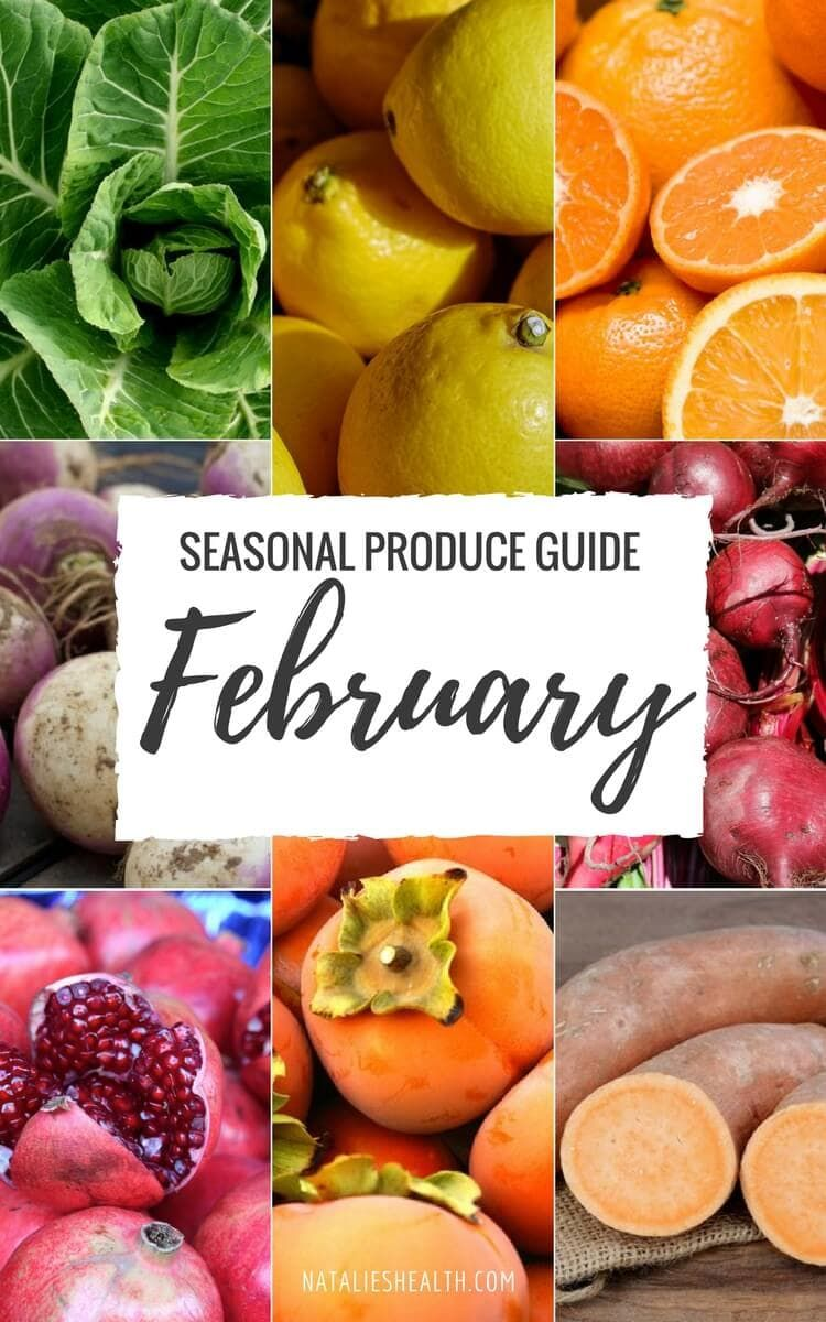 What's in season FEBRUARY Seasonal produce guide