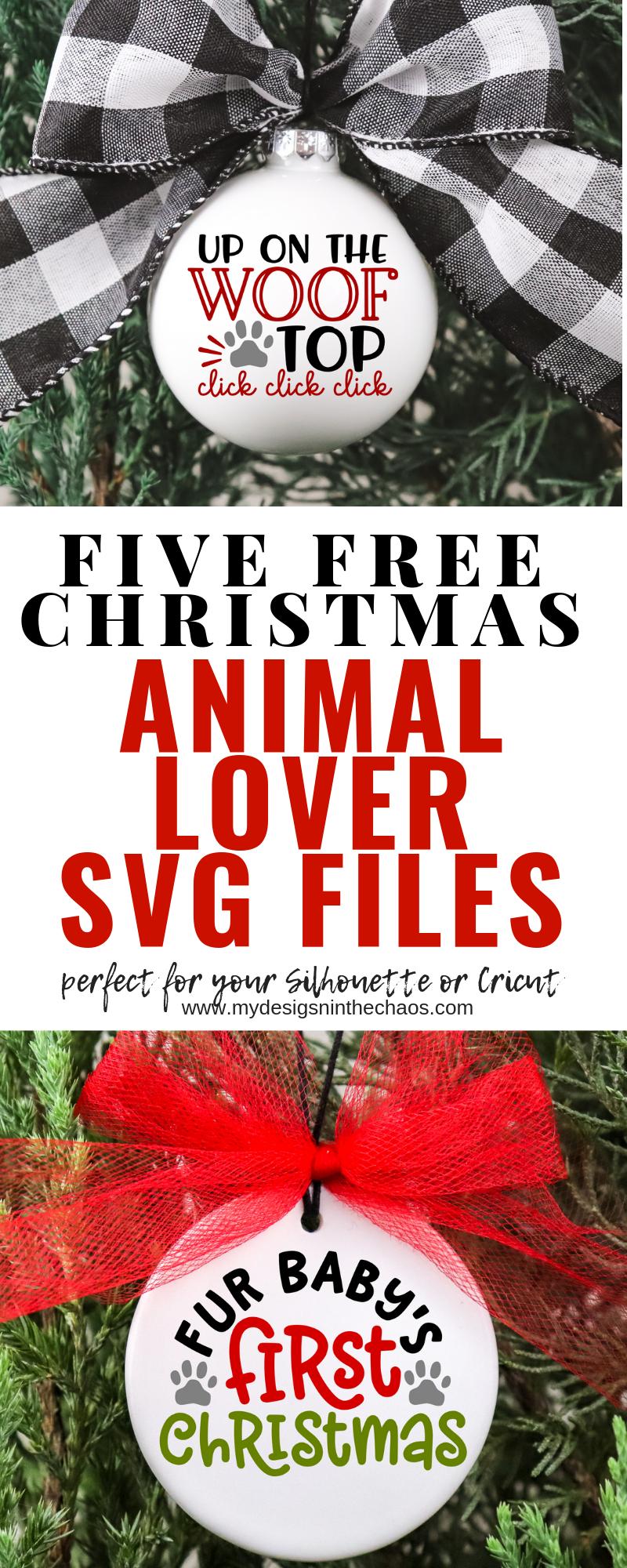 Download Free Animal Lover Christmas SVG Files | Cricut christmas ...
