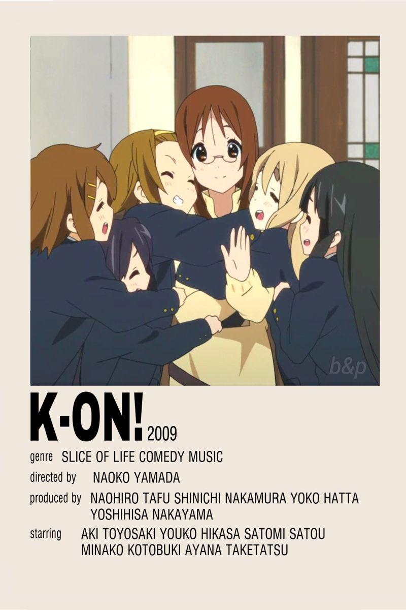 K-On! Minimalist Poster