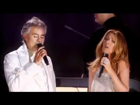 Andrea Bocelli Celine Dion The Prayer Official Live Video Youtube Always Always Will Be My Favorite Celine Dion Singer Christian Music