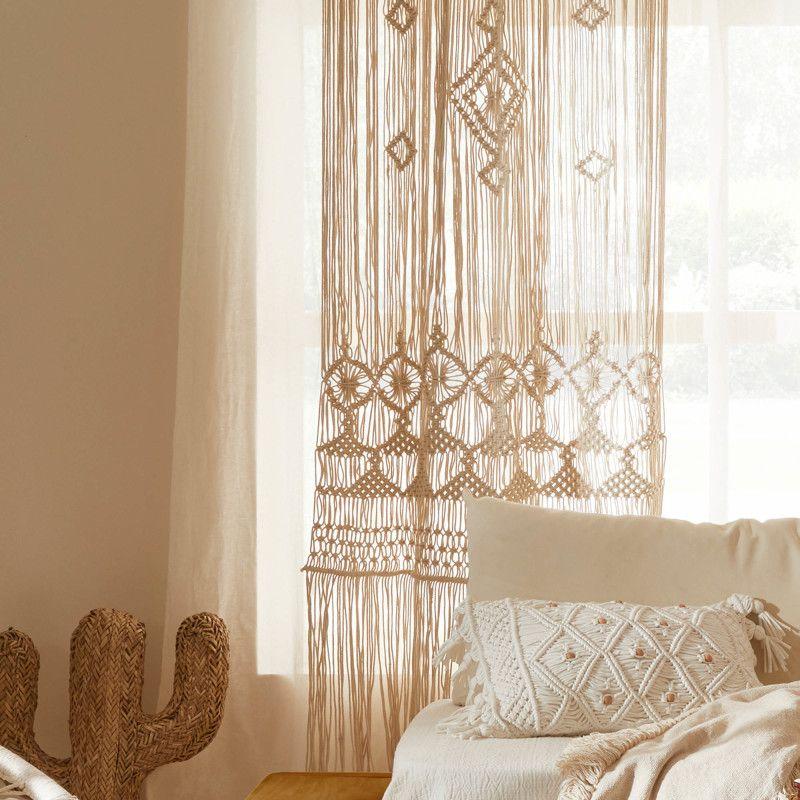 rideaux en coton