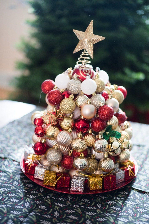 DIY Ornament Christmas Tree + More Dollar Tree Christmas