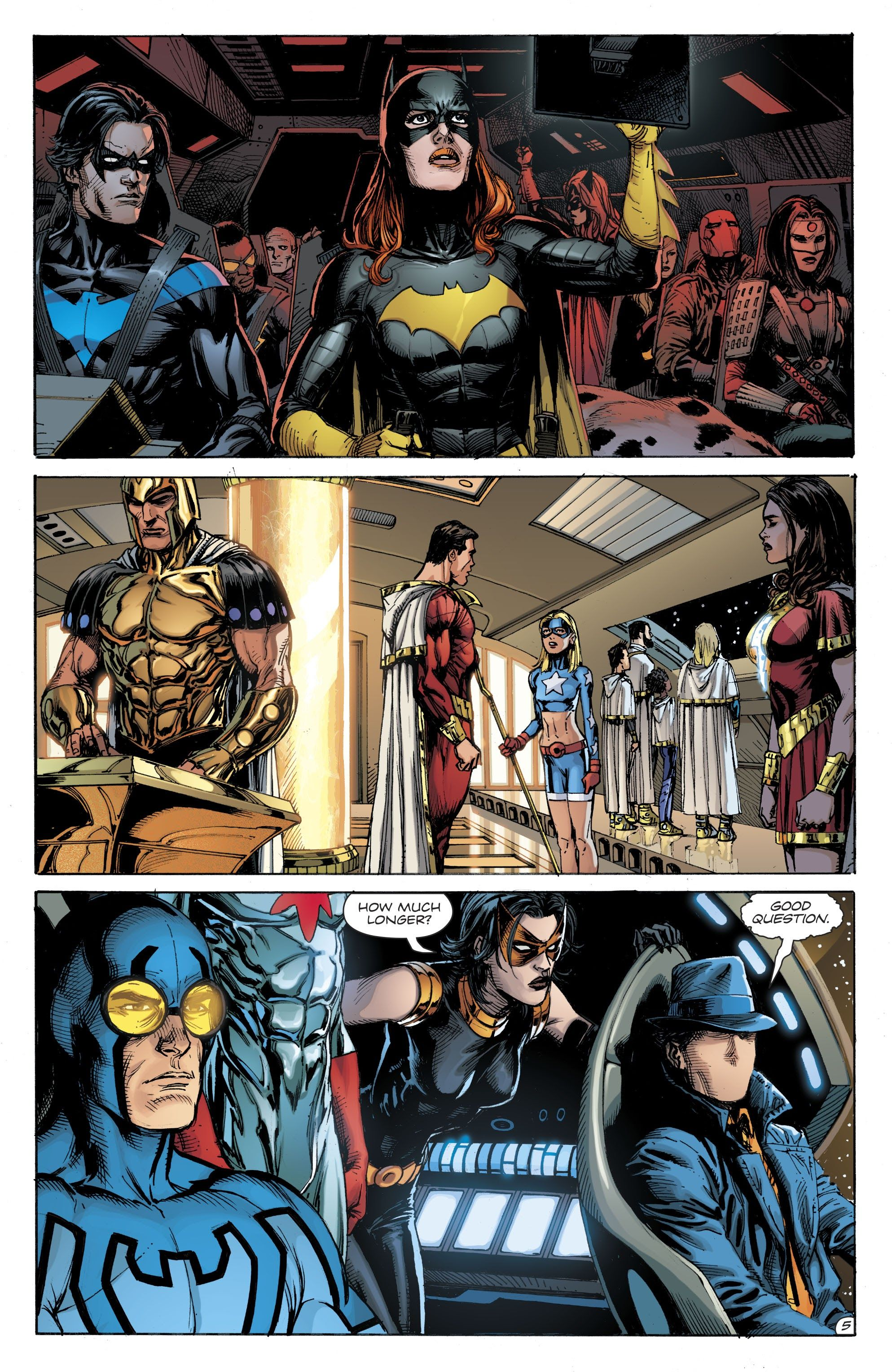 Doomsday Clock Issue 9 Read Doomsday Clock Issue 9 Comic