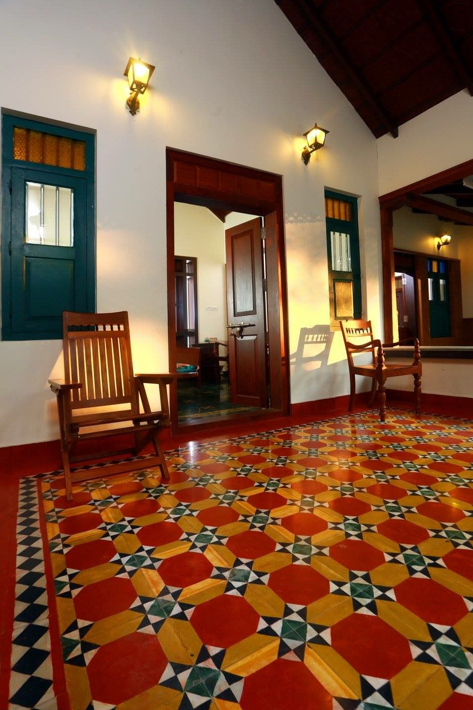 Pin By Smitha Rajeev On Flooring Village House Design Chettinad
