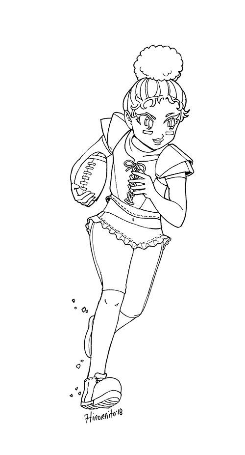 Touchdown Lol Surprise Doll By Https Www Deviantart Com Hinoraito On Deviantart Chibi Spiderman Coloring Pages Lol