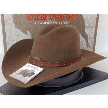 8b8ab5b018 Stetson Cowboy Hat 4X Buffalo Fur Felt Seminole Mink