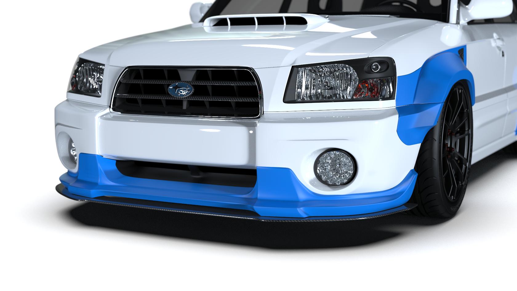 Front Lip Spoiler Subaru Forester Sg5 02 05 Subaru Forester Subaru Subaru Forester Xt