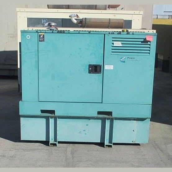 Kubota 25 kW Diesel Generator  Model: F2803  1800 rpm  277