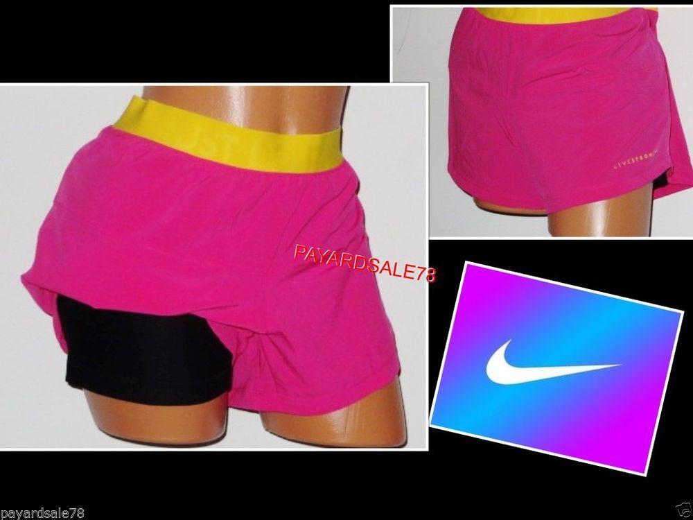 Nike Pantalones Cortos De Compresión Para Mujer Ebay Compra