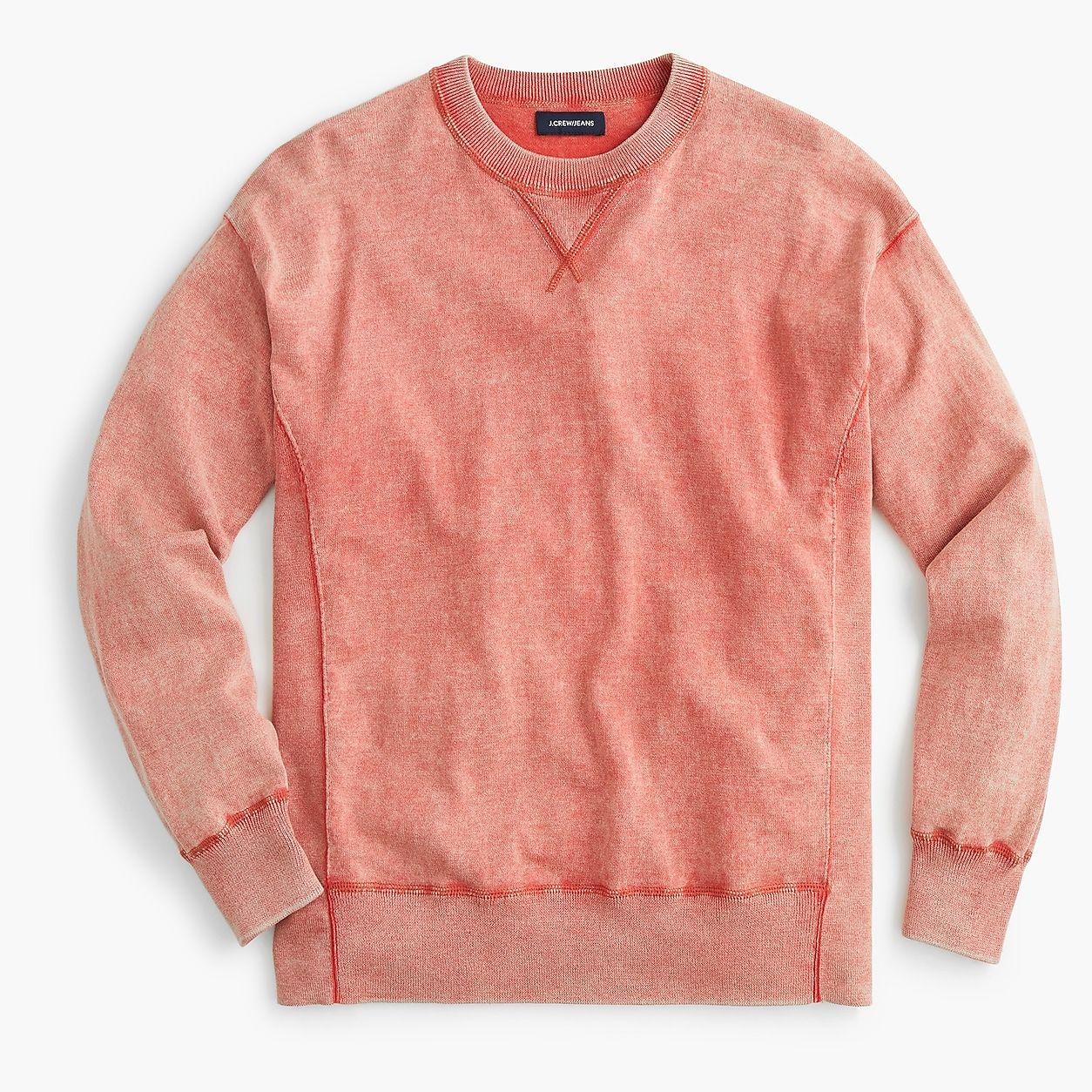 Side Panel Crewneck Sweatshirt | Sweatshirts, Crew neck