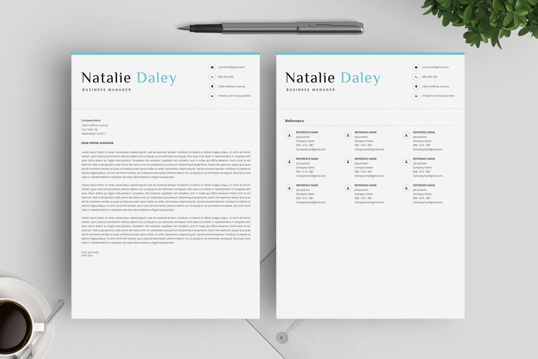 Word Resume Template 4 Pages Build Guide Outstanding Cv