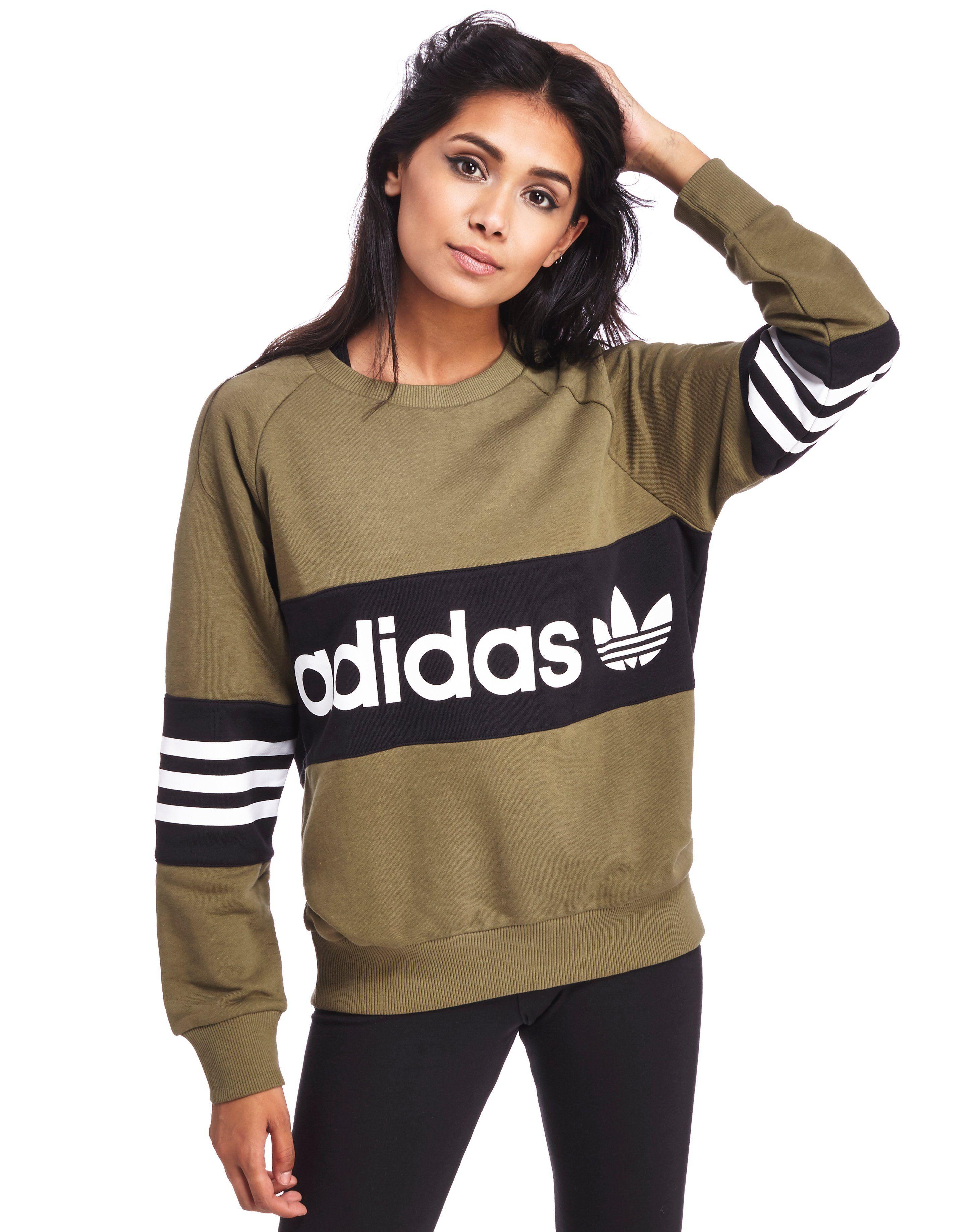 db67ce54da adidas Originals Street Crew Sweatshirt - Shop online for adidas Originals  Street Crew Sweatshirt with JD Sports