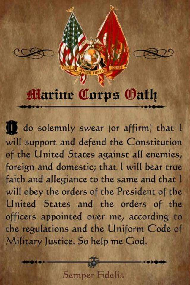 Never Relieved Of That Oath