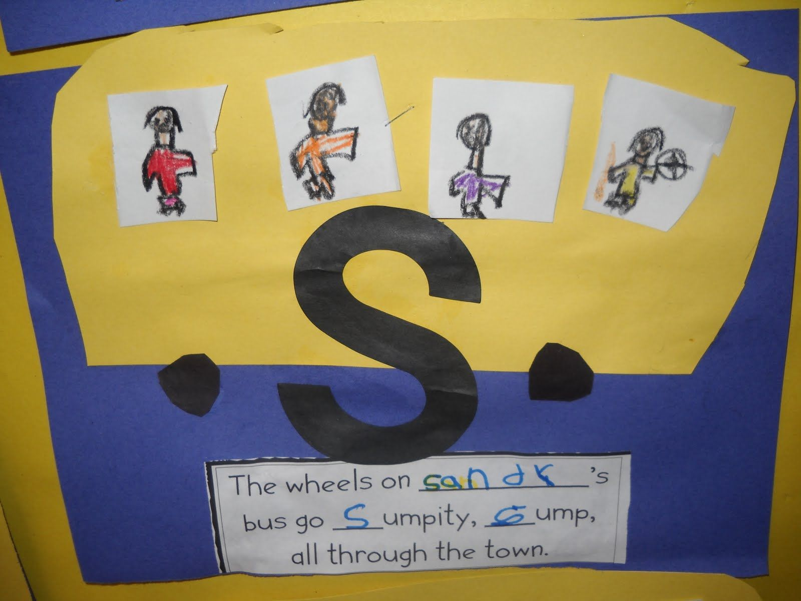 Alliteration Using Wheels On The Bus Song And Student