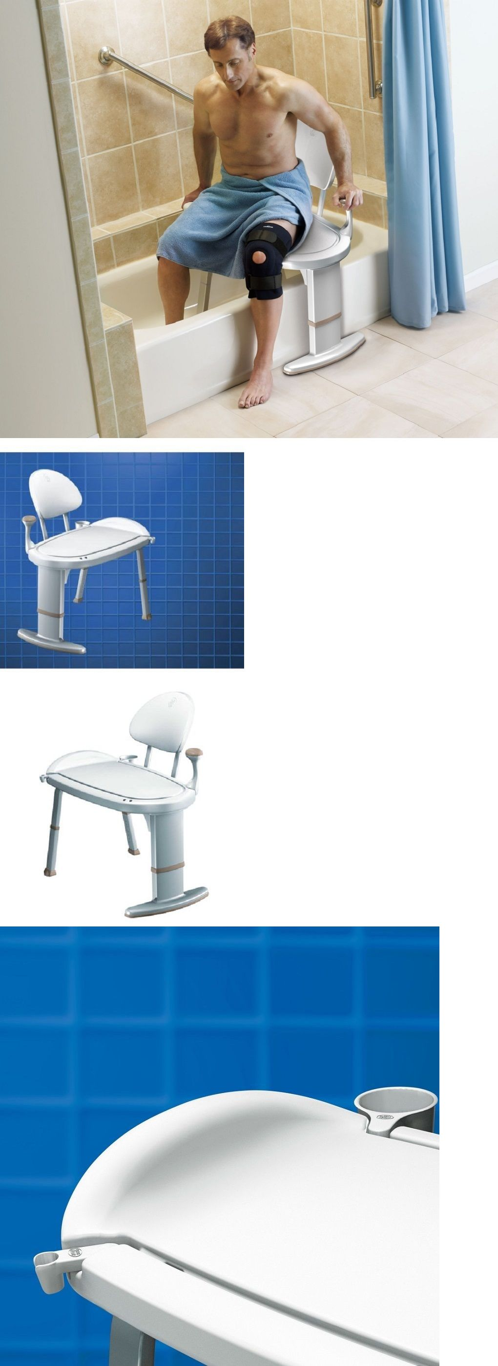 Shower and Bath Seats Safety Bath Bench Shower Transfer Chair Tub