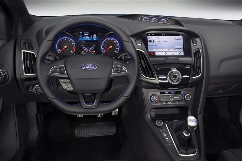 Interior Of New Ford Focus Rs 2016 Ford Focus Rs Ford Focus Focus Rs