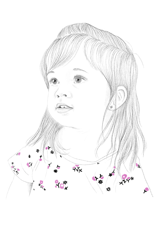 portrait-drawing-of-young-girl