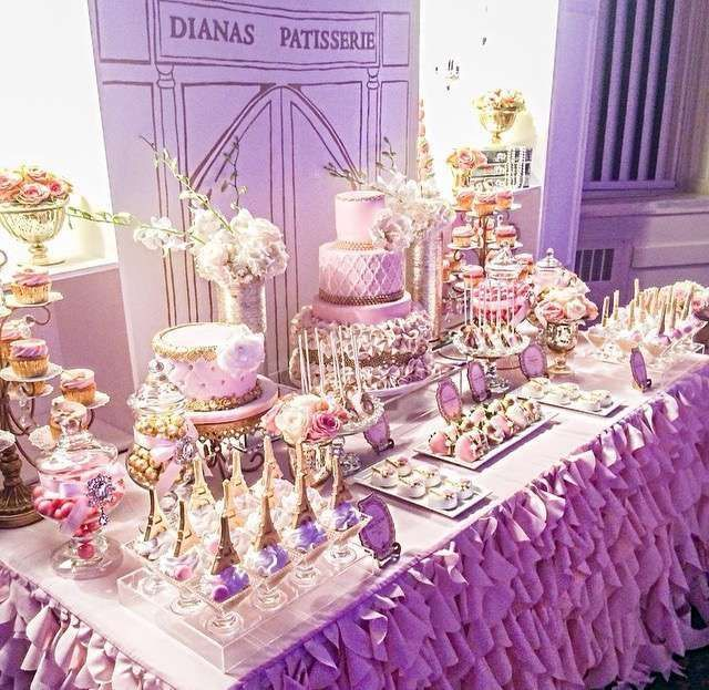 sweet 16 party decoration ideas - Google Search | Candy ...