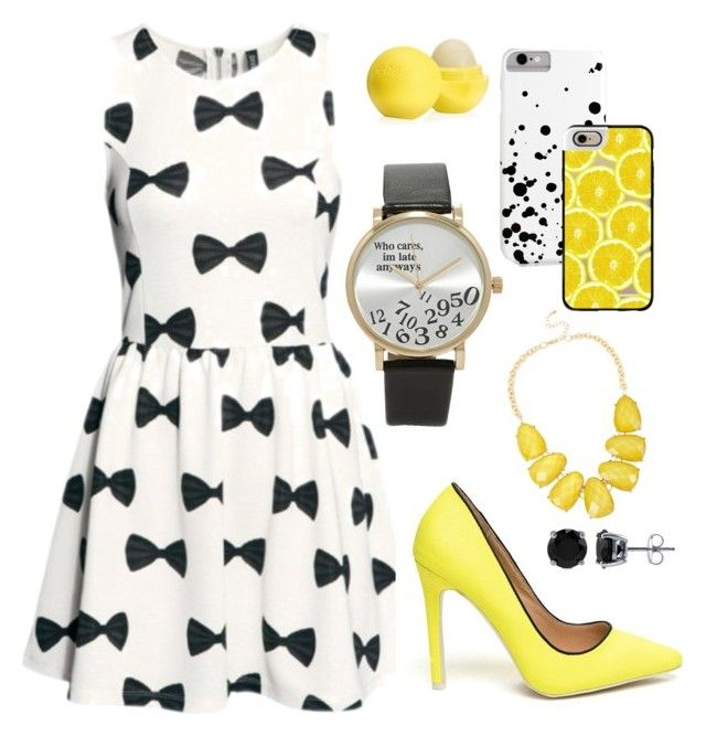 """""""07; to brighten your day"""" by roryangelus ❤ liked on Polyvore featuring Eos, Casetify, Forever 21, BERRICLE and INC International Concepts"""