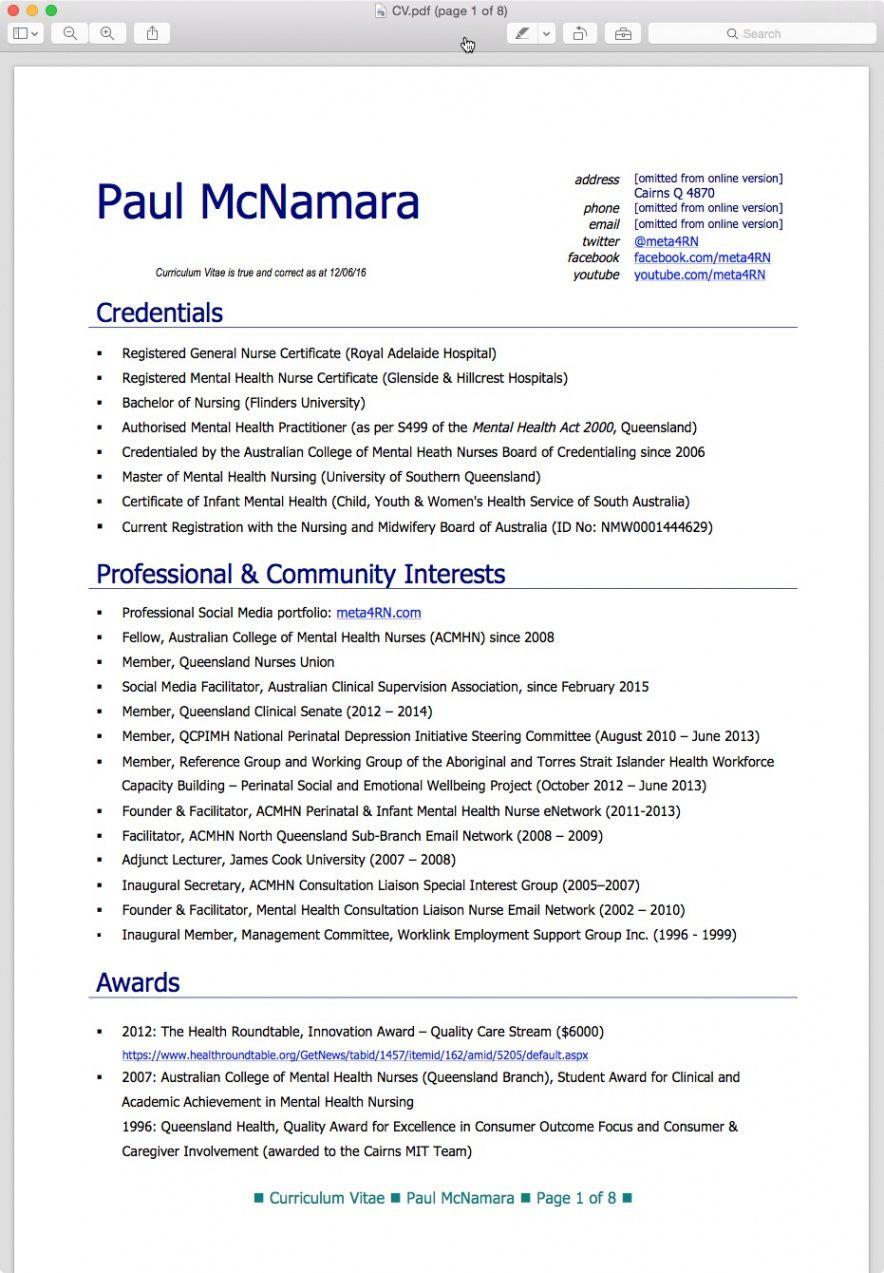Cv template queensland health cv template resume