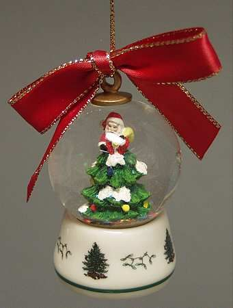 Christmas Tree Snowglobe - Boxed in the Spode Christmas Tree Misc