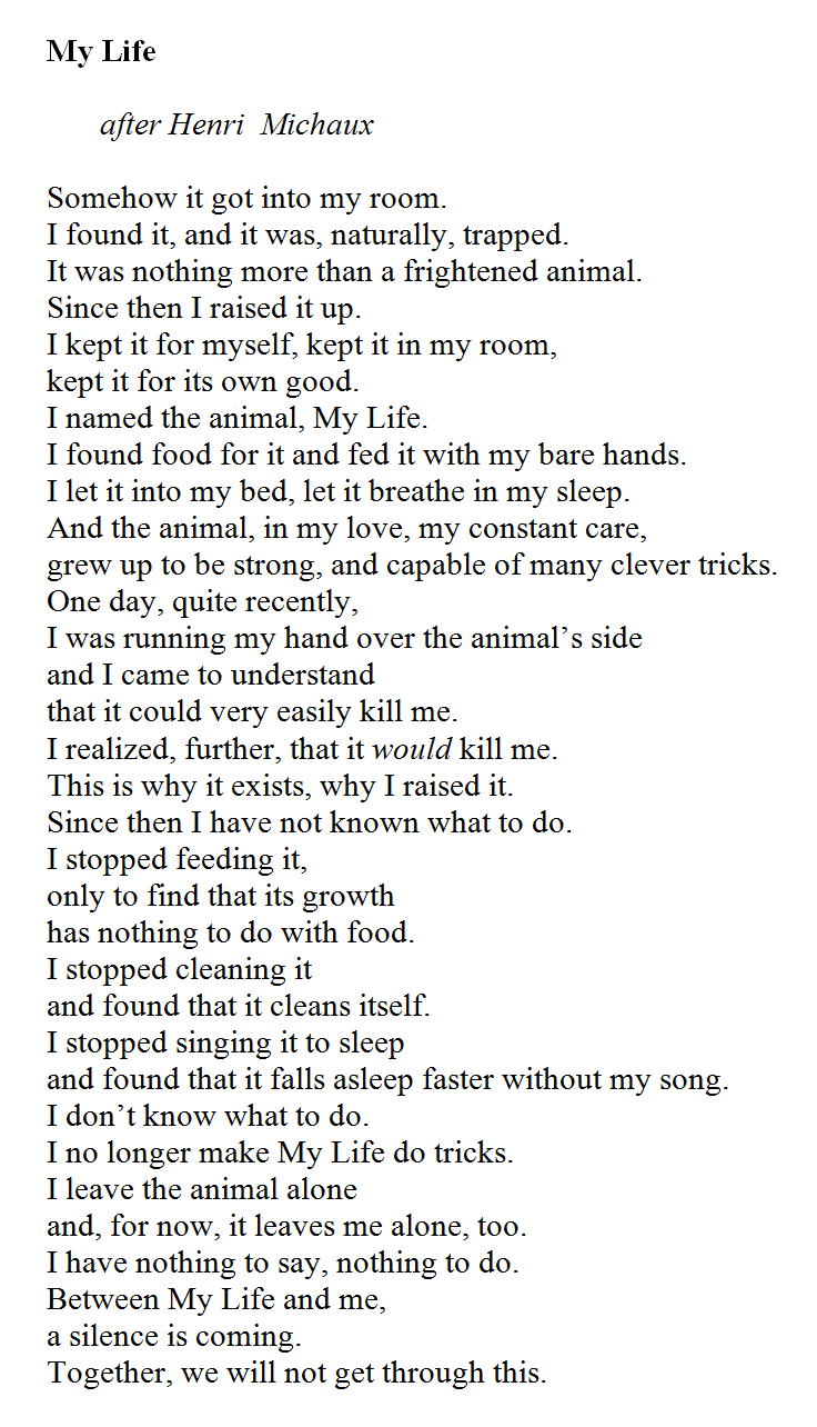 1. Quite possibly one of the best poems about life and success.