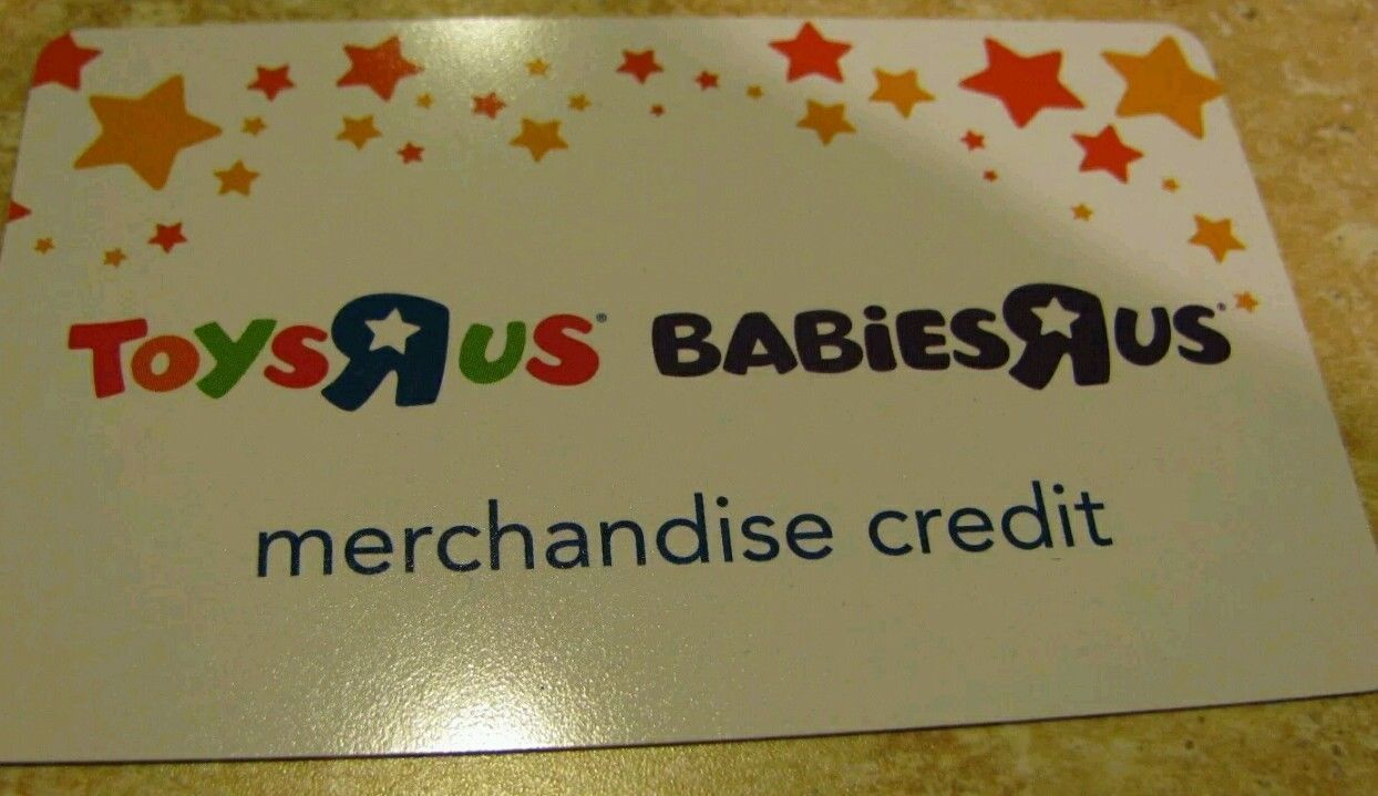 Coupons Giftcards Toys R Us Babies R Us 85 79 Merchandise Store