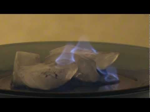 Ice On Fire Science Magic Trick Science Magic Tricks Science