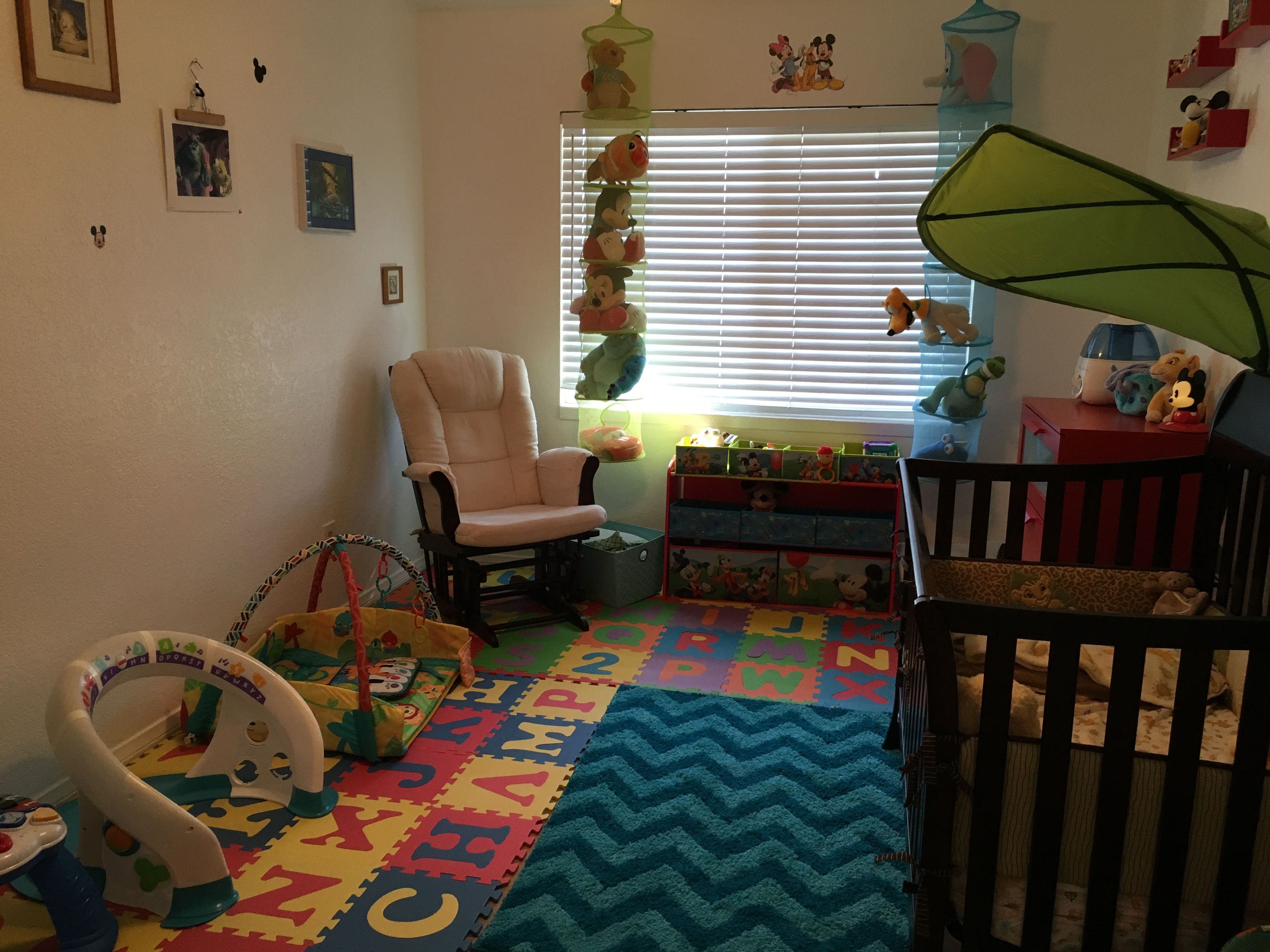 Disney inspired bedroom for baby