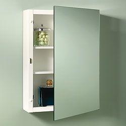 Broan-235P26WH-NuTone-Topsider-Single-Door-Surface-Mount-Medicine-Cabinets---White