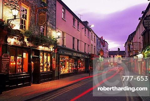 Plunkett Street, Killarney Town, County Kerry, Munster, Republic of Ireland, Europe