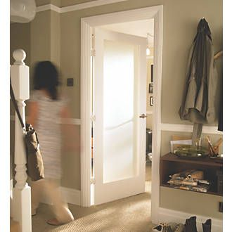 Order online at Screwfix.com. Single-light obscure-glazed interior door with clean minimal contemporary lines to enhance both modern and traditional ... & Order online at Screwfix.com. Single-light obscure-glazed interior ...