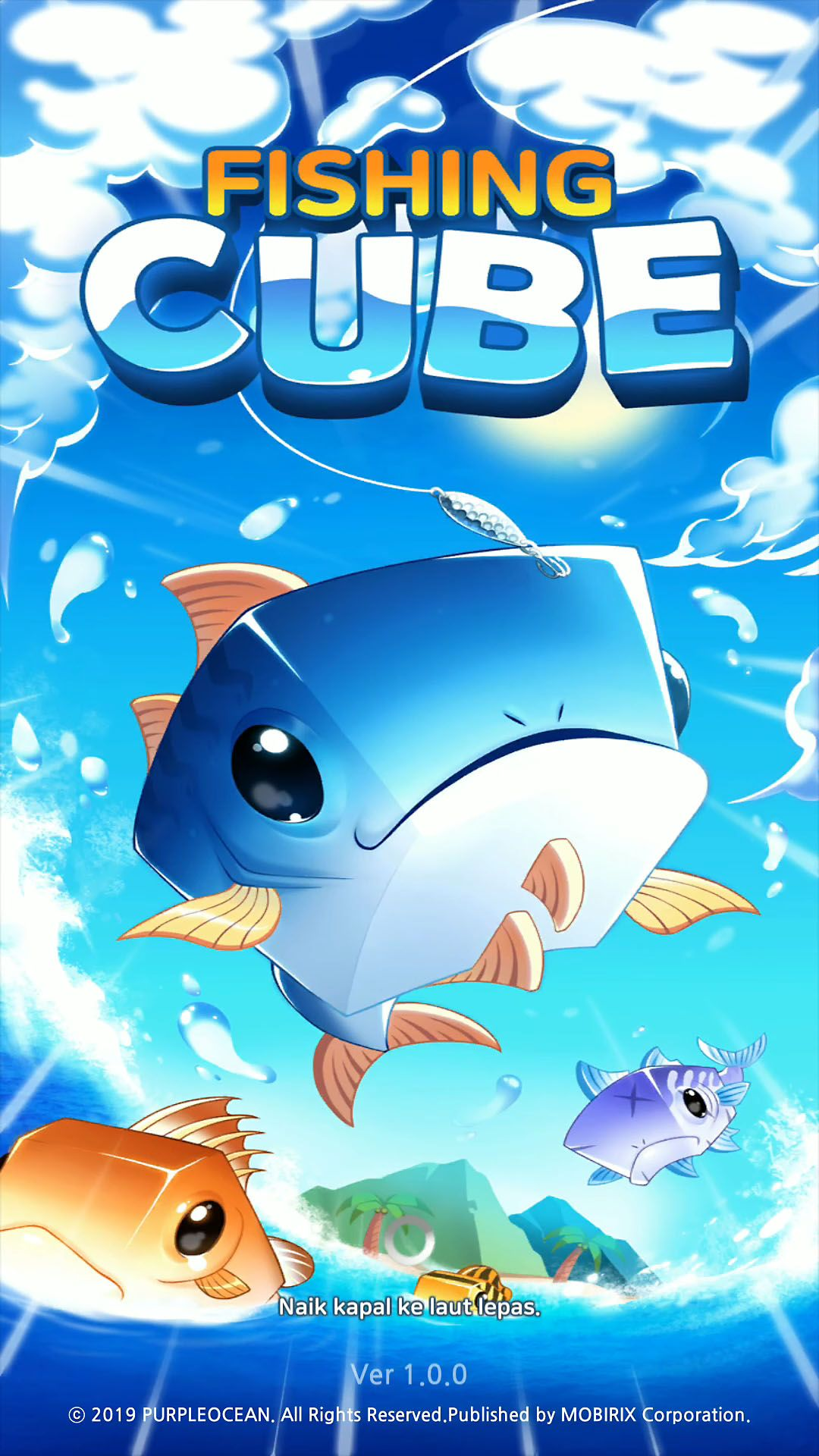 Download Free Android Game Fishing Cube Free android