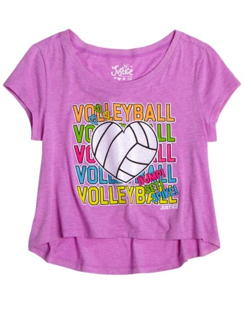 volleyball cropped graphic tee girls graphic tees clothes shop rh pinterest com