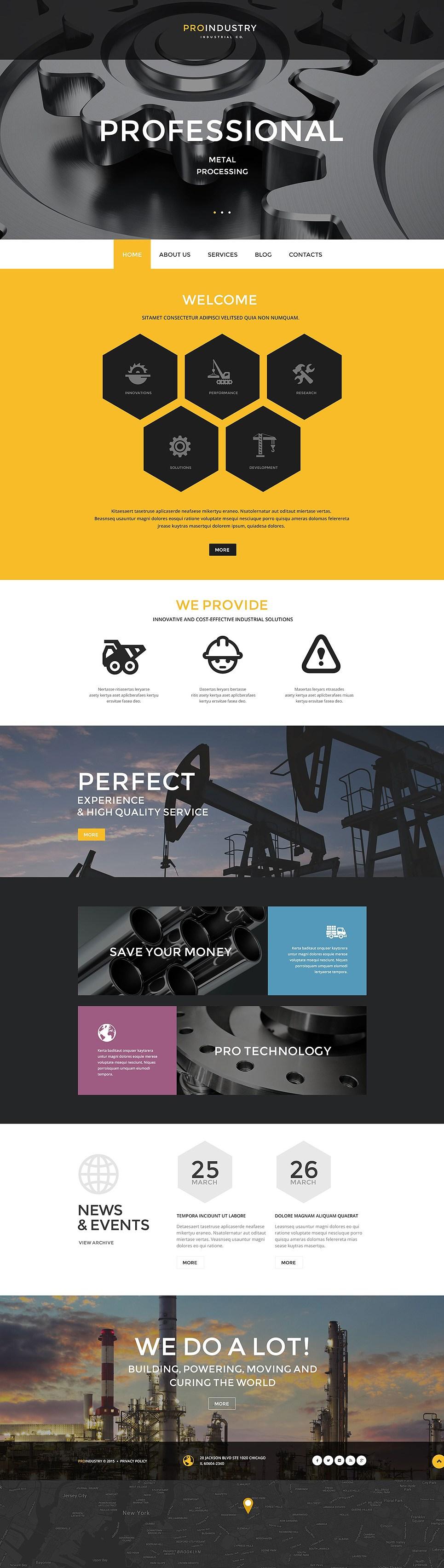 20 Best Industrial Business Wordpress Themes Buildify Web Layout Design Web Inspiration Website Design Inspiration