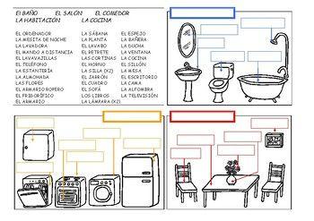 Habitaciones Y Muebles La Casa Set En 2020 Lista De