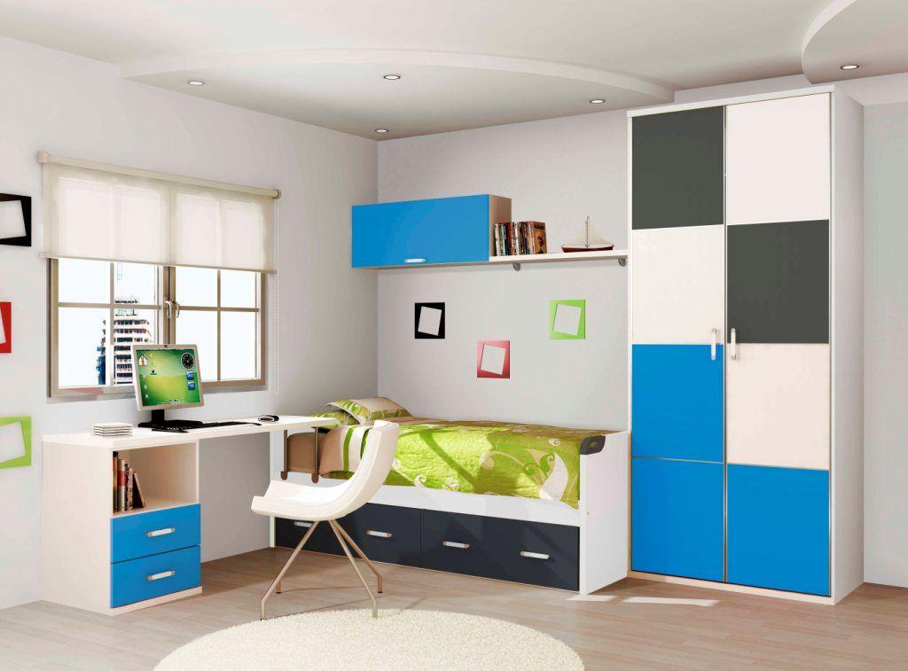 Dormitorios juveniles de madera coleccion couleur 252 - Dormitorios juveniles madera ...