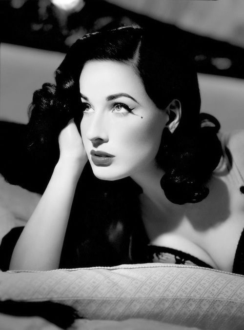 Happy 41st Birthday Dita Von Teese!