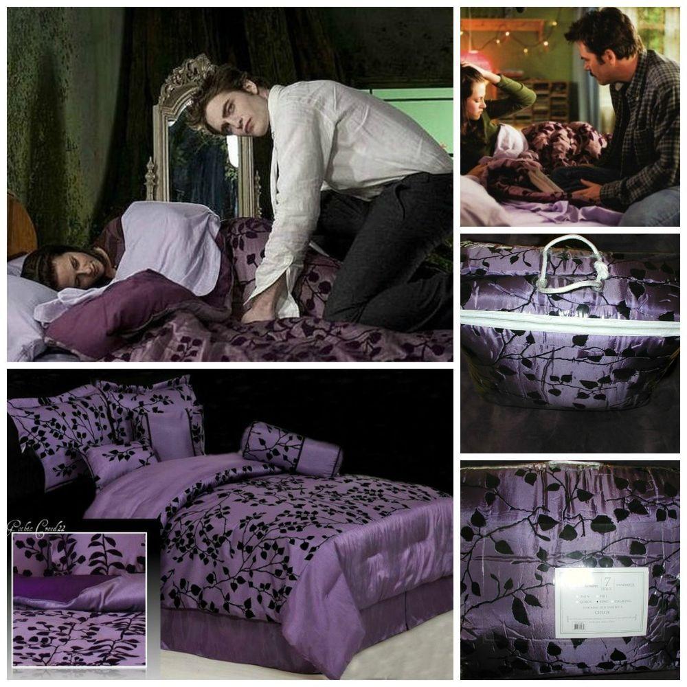 breaking dawn bella swan flock movie design comforter king 7pc bedding
